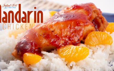 Mandarin Chicken and Rice Dinner