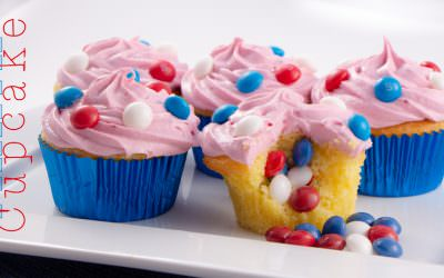 Pinata Cupcakes
