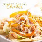 Sweet Salsa Chicken Salad