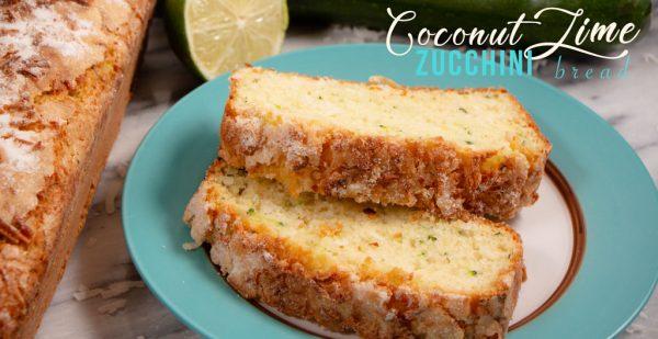 Zucchini Coconut Lime Bread