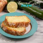 Zucchini Coconut Lime Bread Recipe