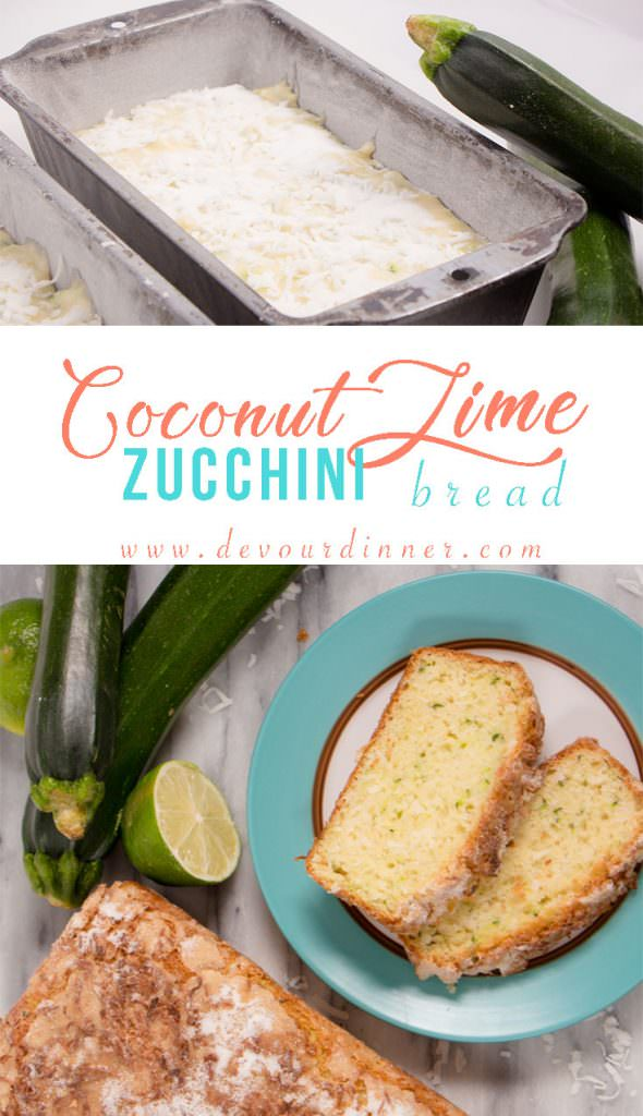 Coconut Lime Zucchini Bread_Quick Bread
