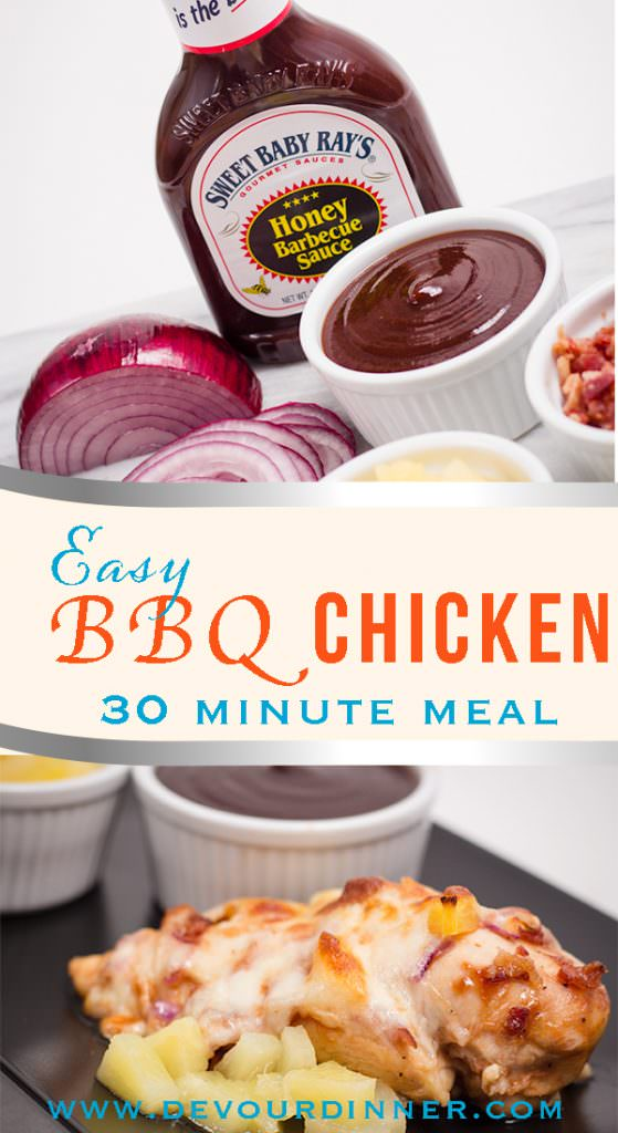 Easy BBQ Chicken Dinner Recipe