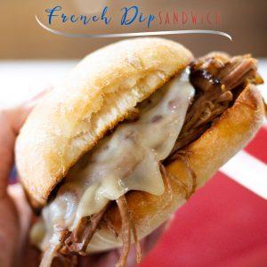 Instant Pot French Dip Sandwich