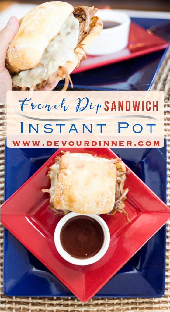 Instant Pot French Dip Recipe