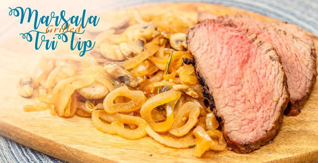 Marsala Grilled Steak Dinner Recipe