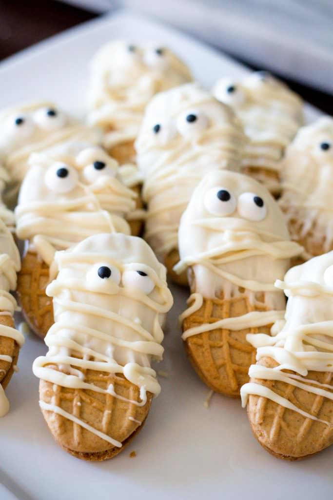 Nutter Butter Halloween Cookies