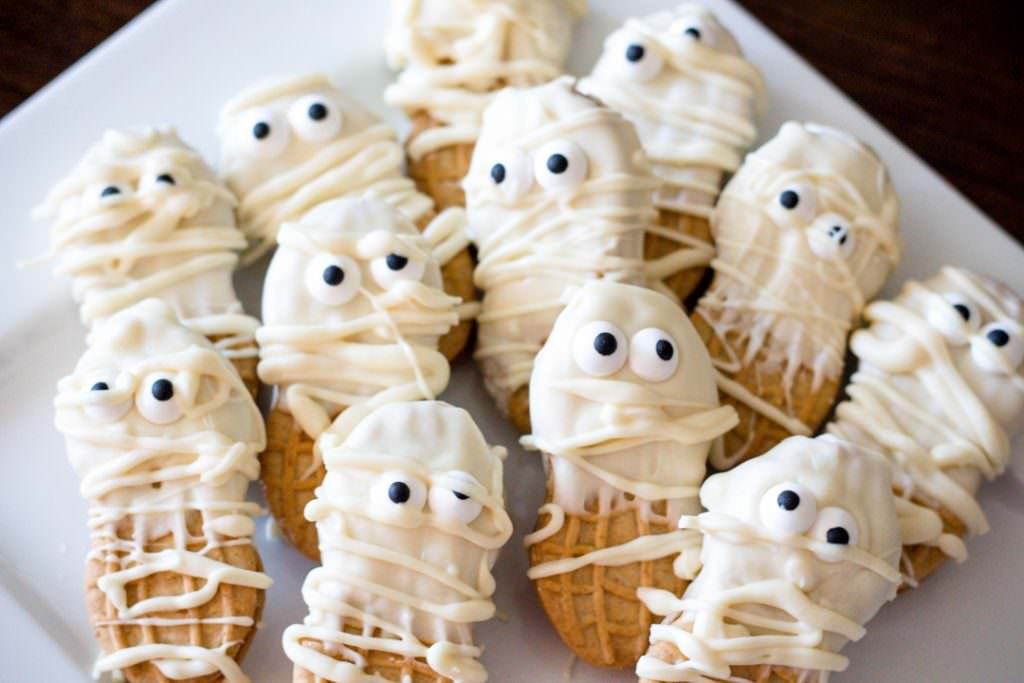 Halloween Mummy Cookies