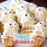 Nutter Butter Mummy Cookies