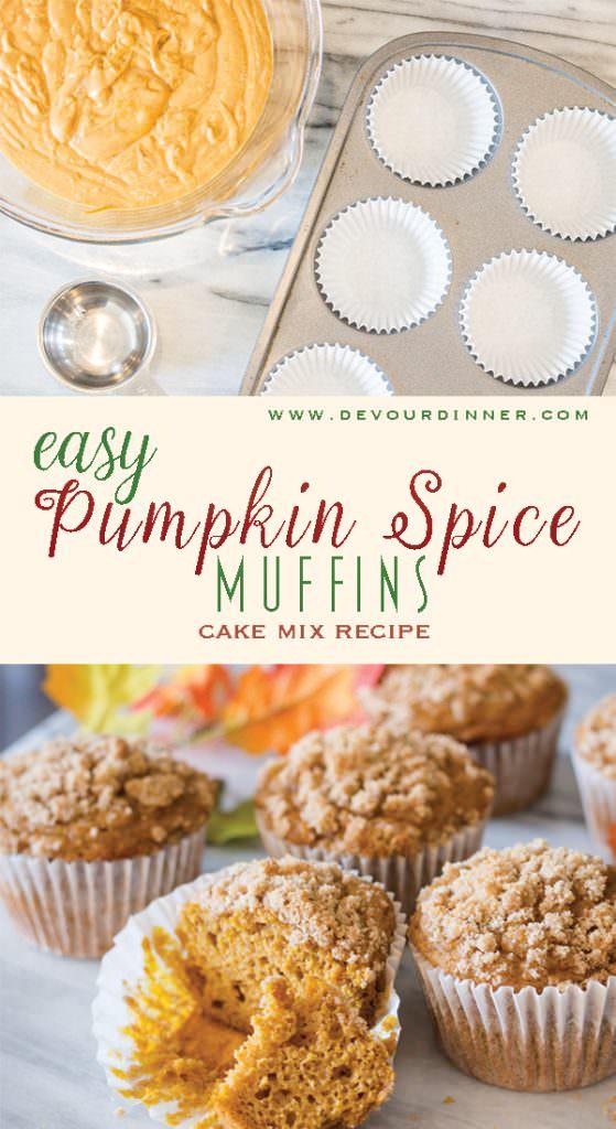 Pumpkin Spice Muffin #pumpkinspice #easyrecipe #easysnack