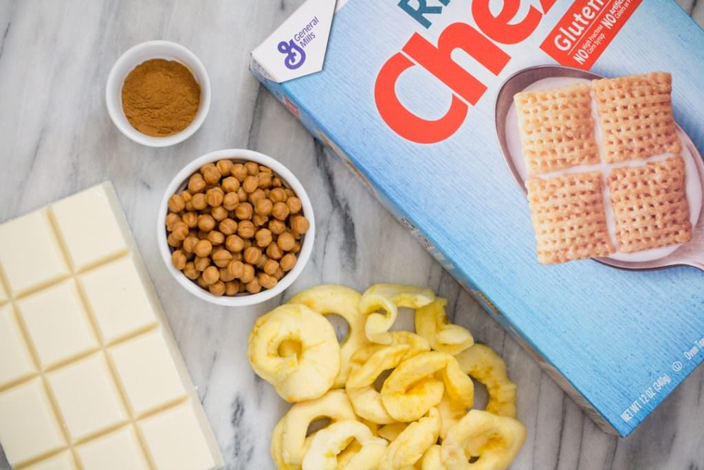 Chex Mix Ingredients