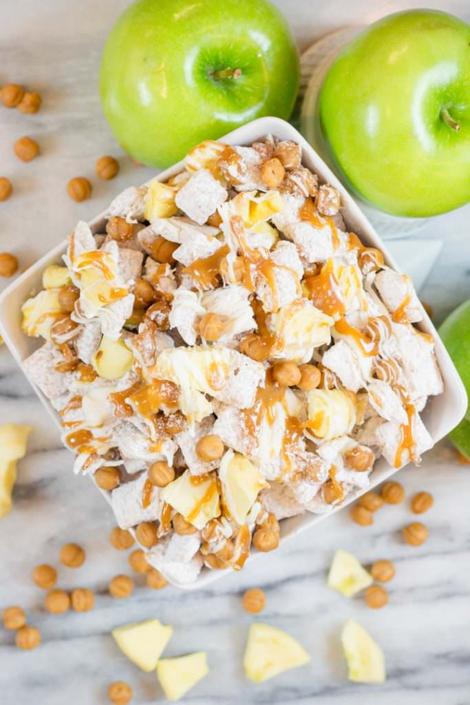Chex Mix Caramel Apple