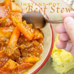 Beef Stew Recipe for Instant Pot, Crock Pot, and Slow Cooker