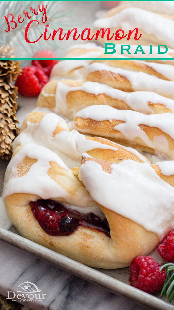 Fun Braided Sweet Bread with Cream Cheese and a berry medley. I've always loved how fun this sweet bread looks and how delicious it tastes. Make for Christmas Morning breakfast or any holiday event or just because! It's delicious! #devourdinner #sweetbread #braidedbread #Sweetrolls #instantpot #instantpotrecipe #bread #breadrecipe #breakfast #breakfastrecipe #holidaybreakfast #holidaybread #Christmasbread #yum #yummy #inmytummy #recipe #Recipes #feedfeed #instagood #inmykitchen #Cinnamonroll