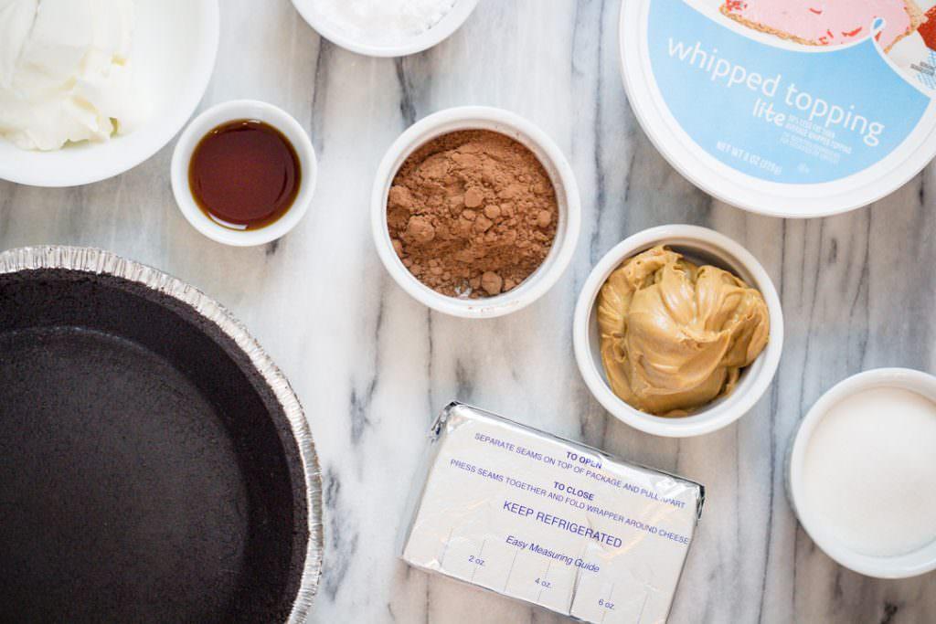 Chocolate Peanut Butter Pie Ingredients