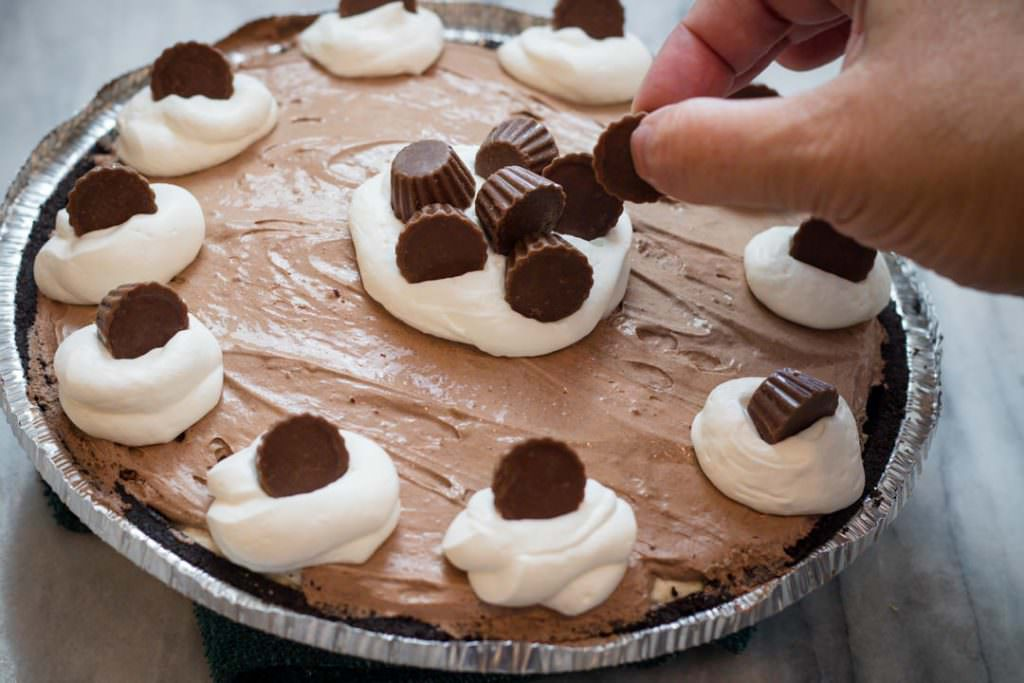 Reeses Chocolate Peanut Butter Pie