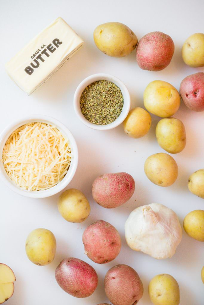 Instant Pot Garlic Potatoes