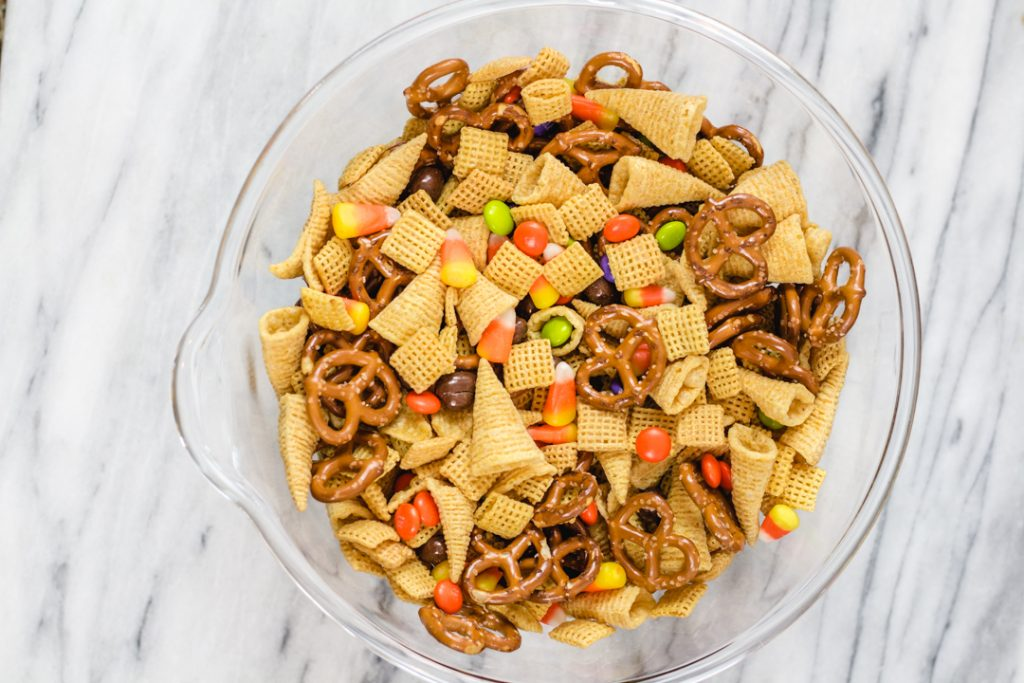 Chex Party Mix, Halloween Chex Snack Mix