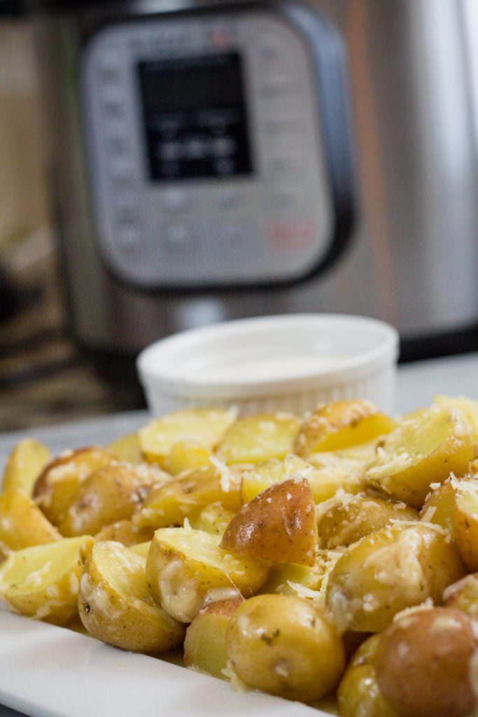Roasted Potatoes made in Instant Pot