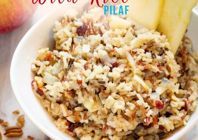 Easy to make Wild Rice Pilaf