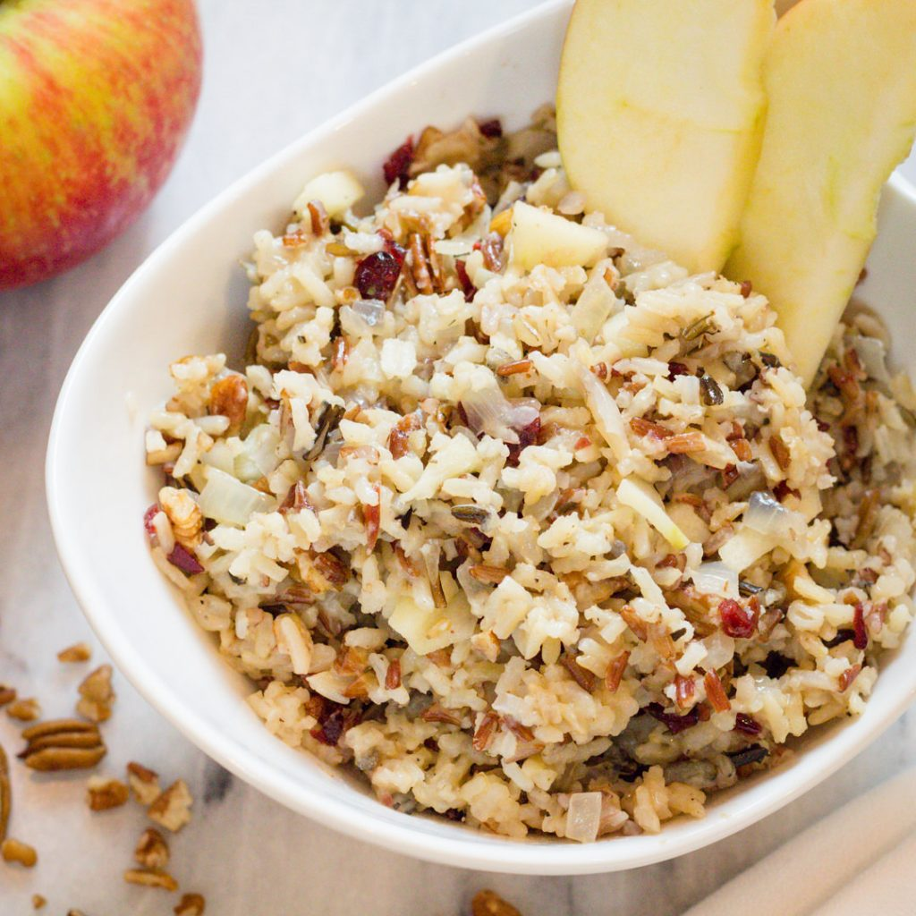 Apple Rice Pilaf