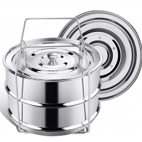 Stackable Insert Pans for Instant Pot