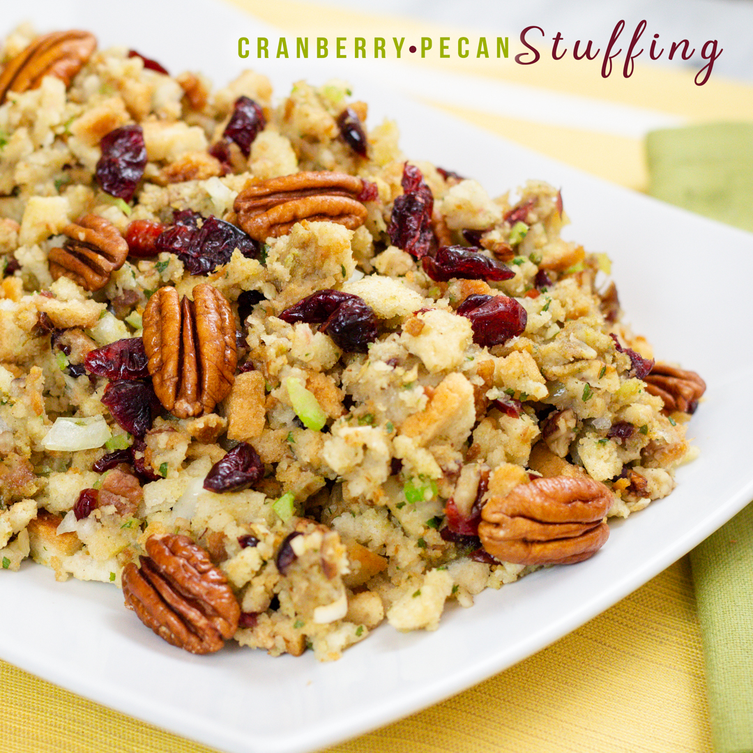 Cranberry Pecan Stuffing Recipe a Family Tradition for more than 25 years