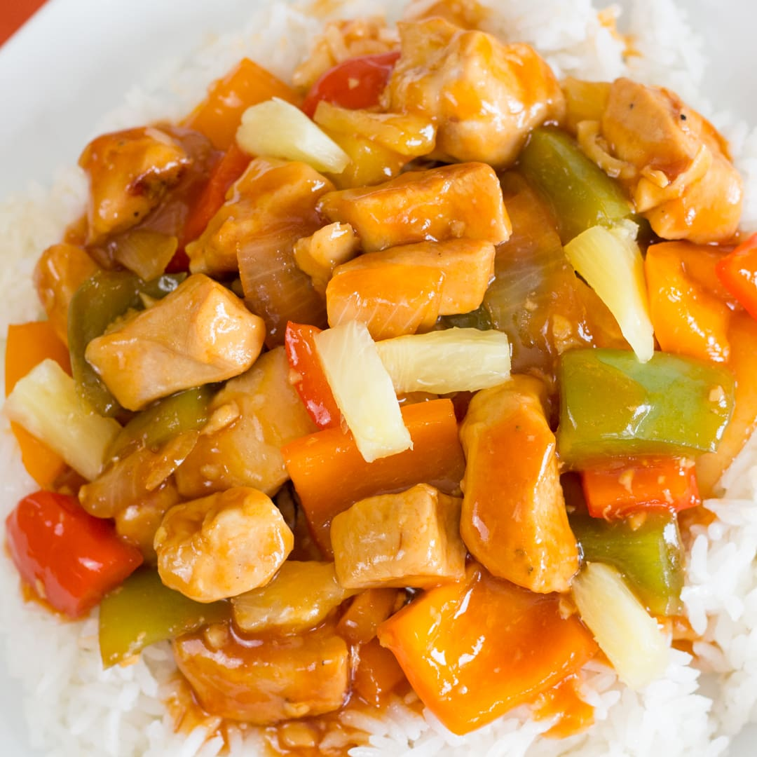 Instant Pot Sweet and Sour Chicken is Proven Family Favorite
