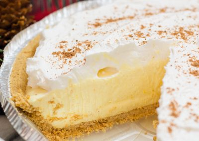 How to make Freezer Eggnog Pie