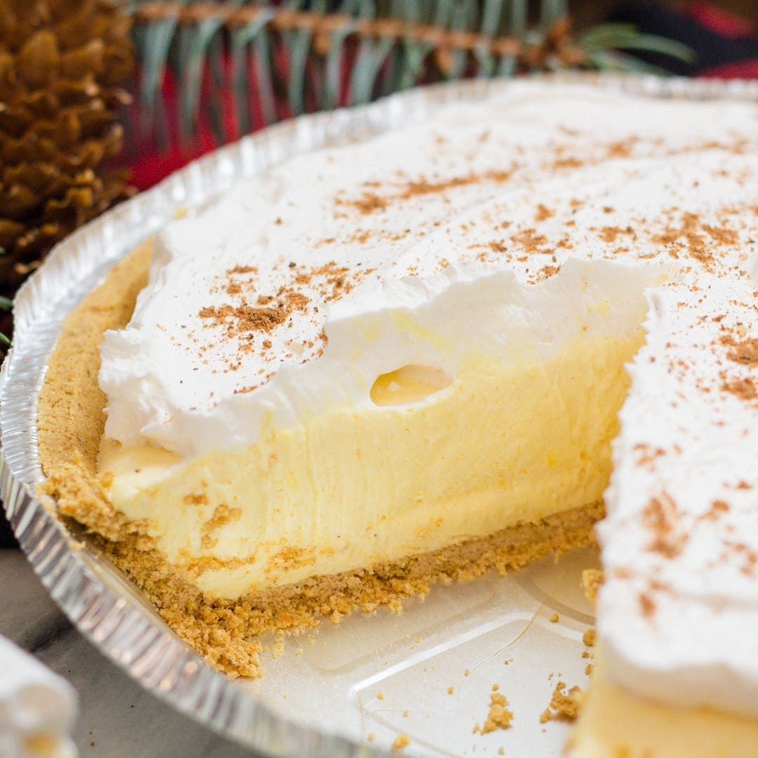 How to make Freezer Eggnog Pie