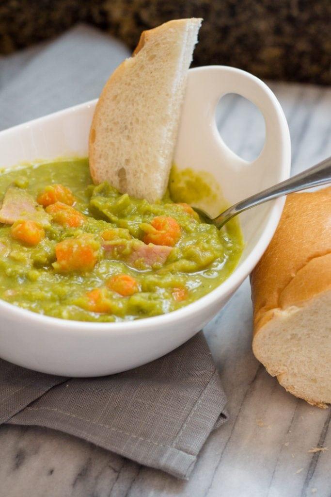 Split Pea Soup can be frozen