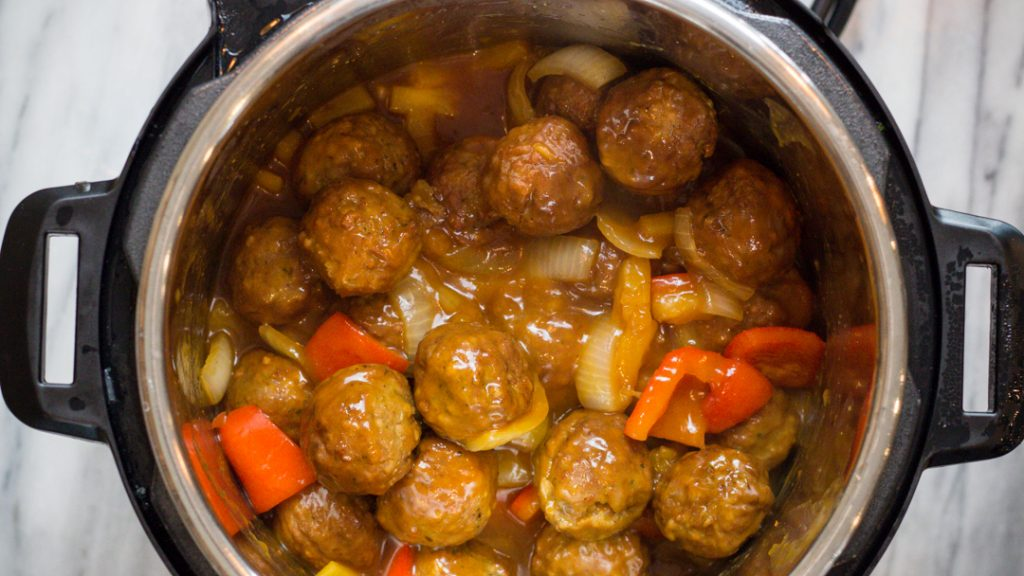 Instant Pot Sweet and Sour Meatballs