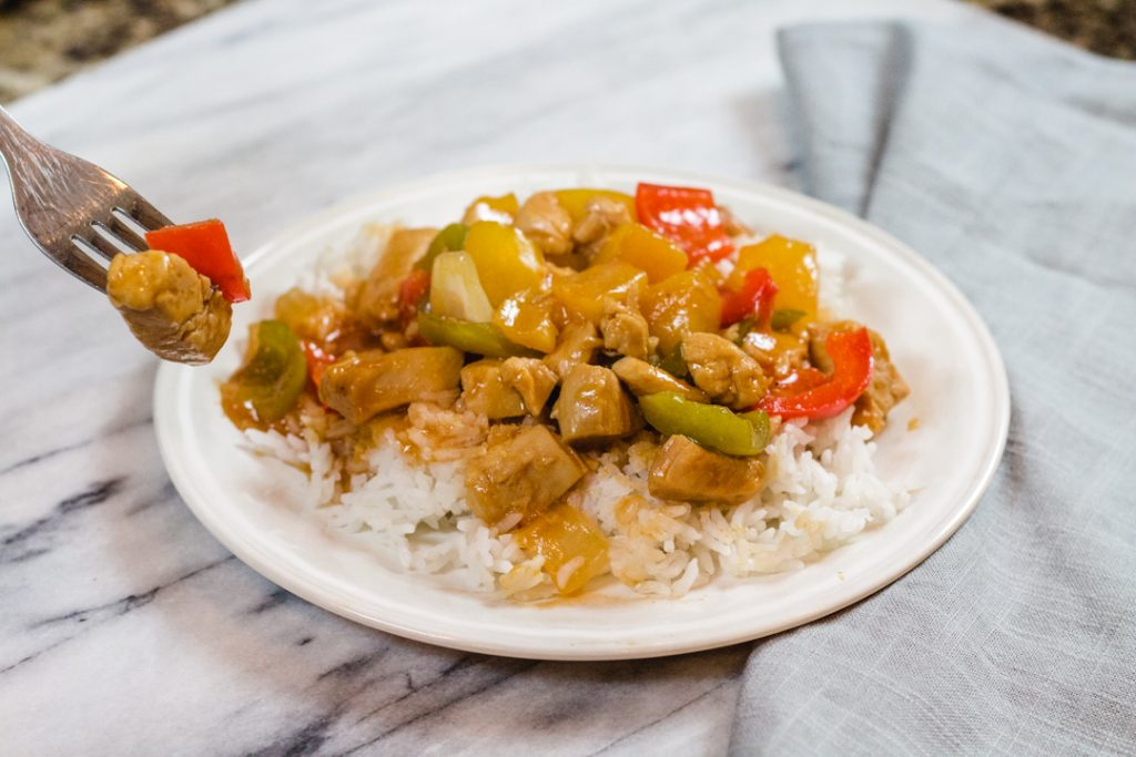 Sweet and Sour Chicken, Chinese Take Out Recipe