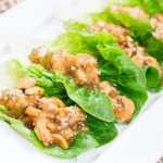 Chicken Lettuce Wrap Appetizer or Lunch Recipe