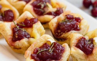 How to make Cranberry Brie Bites Recipe