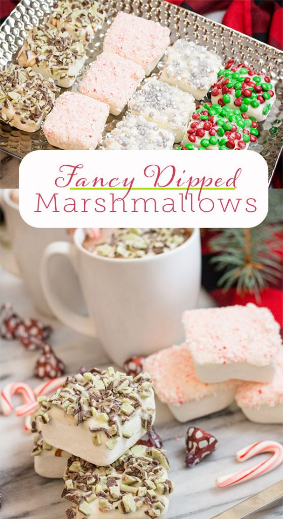 Fancy Marshmallows for Hot Cocoa, Hot Chocolate