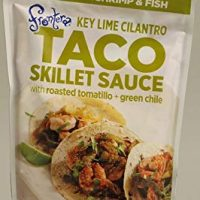 Frontera Taco Skillet Sauce Seasoning for Shrimp and Fish Medium Key Lime Cilantro -- 8 fl oz - 2 pc