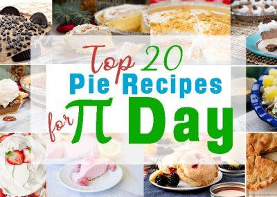20 Pie Recipes for Pi Day