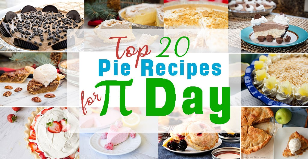 20 Pie Recipes for Pi Day