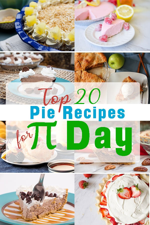 Celebrate π Day on March 14th with our Top Pie Recipes, from easy no bake 3 ingredient pies to mouthwatering Apple Pie and more. So many pies to choose from you can't have just one slice. #pie #pierecipes #pies #piday #dessert #dessertrecipes #easyrecipes #recipes #recipe #food #foodie #march14 #πday #math #sliceofpie #yum #picoftheday #foodoftheday #celebrate #easydessert #holiday #thanksgiving #march #nationalpieday
