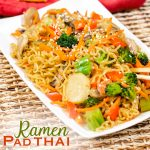 Ramen Pad Thai Noodles with Vegetables