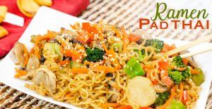 Ramen Pad Thai Instant Pot Recipe
