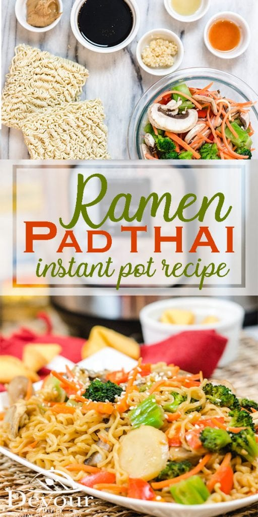 Ramen Pad Thai Recipe #devourdinner #instantpot #Sidedish #thaifood #thai #padthai
