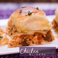 Chicken Parmesan Slider