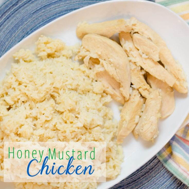 Honey Mustard Lemon Chicken and Rice