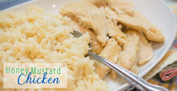 Honey Mustard Chicken and Rice