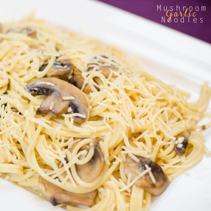 Mushroom Garlic Noodles