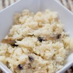 Garlic Mushroom Rice Pilaf