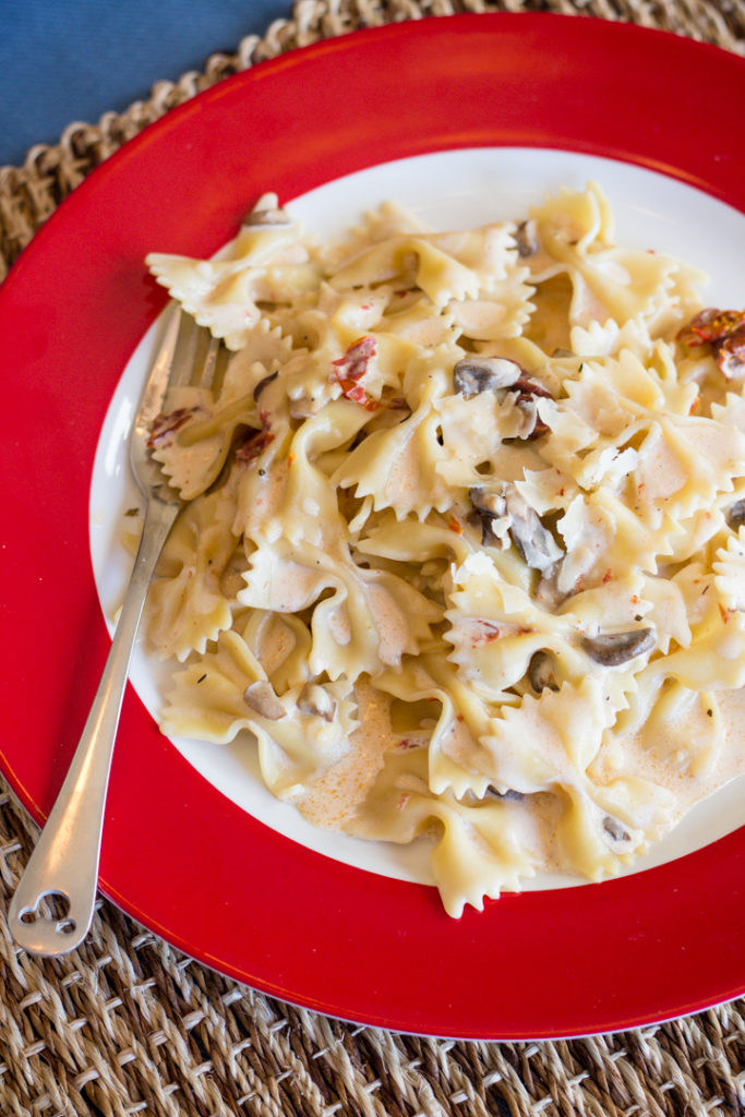 Bowtie Pasta with Sun-dried Tomatoes, Disney Cruise Line copycat Recipe