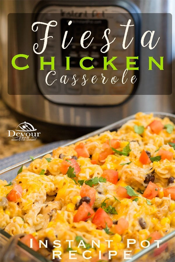 Fiesta Chicken Recipe for Instant Pot
